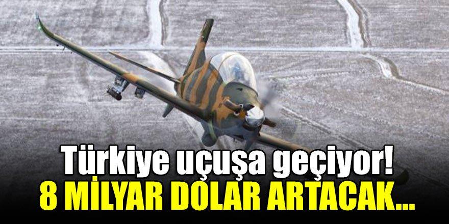 Türkiye uçuşa geçiyor! 8 milyar dolar artacak...