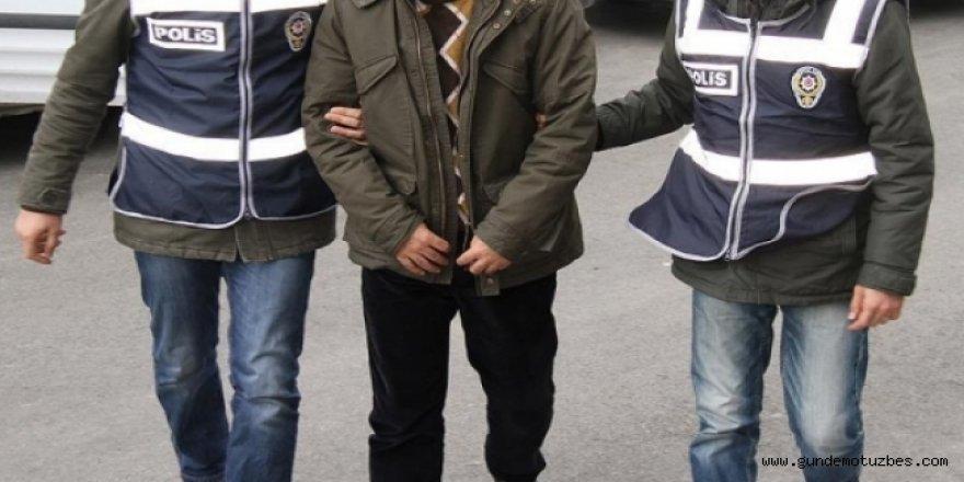 PKK'lıteröristlere yardım iddiasıyla 2 kişiye gözaltı