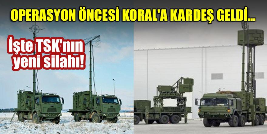 Operasyon öncesi KORAL'a kardeş geldi... İşte TSK'nın müthiş yeni silahı!