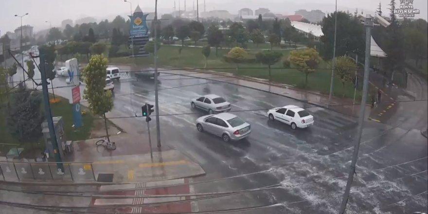 Yağmur Konya'yı serinletti