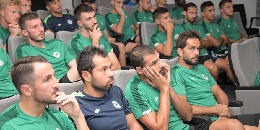 Yeni kurallar Konyaspor'a anlatıldı