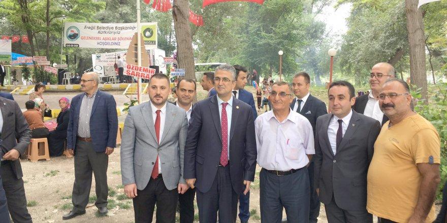 MHP Konya 'Aşıklar Şöleni'ne katıldı