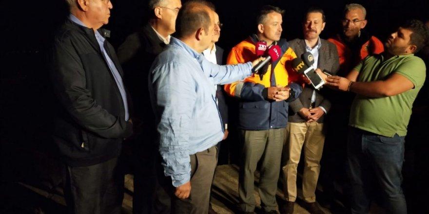 Bakan Pakdemirli'den gece koordinasyon uçuşu sonrası açıklama