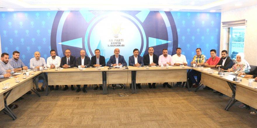 AK Parti Konya, Başkanları ağırladı