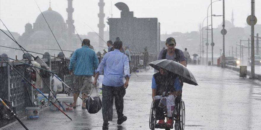 İstanbul için kuvvetli sağanak uyarısı yapıldı