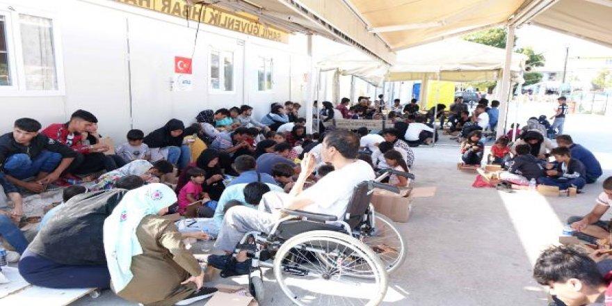Çanakkale'de 249 kaçak göçmen yakalandı