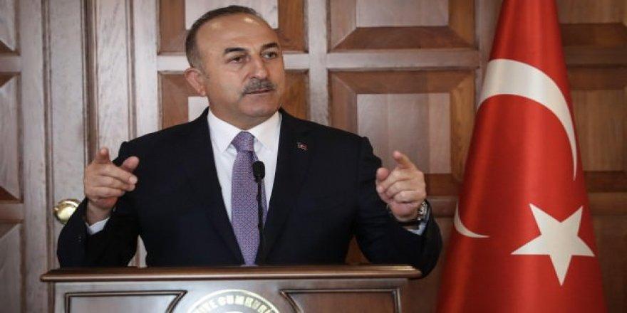 Bakan Çavuşoğlu İİT üyeleriyle Filistin'i görüştü