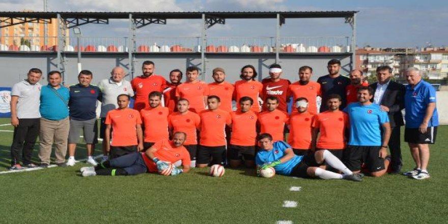 Görme Engelli Futbol Milli Takımı, Avrupa Şampiyonası'na hazırlanıyor