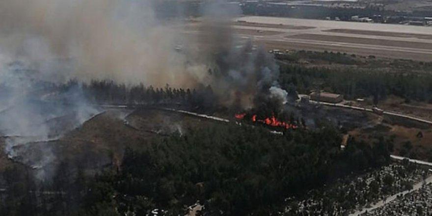 İzmir'de bir yangın daha!