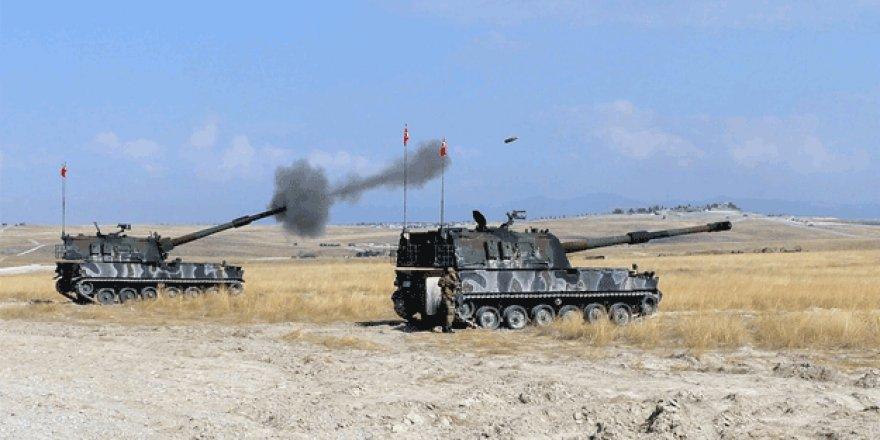 Teröristler Afrin'e saldırdı! TSK karşılık verdi