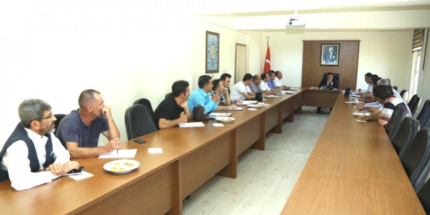 """Halkapınar'da """"Ekoloji ve Balıkçılık Çalıştayı"""" düzenlendi"""