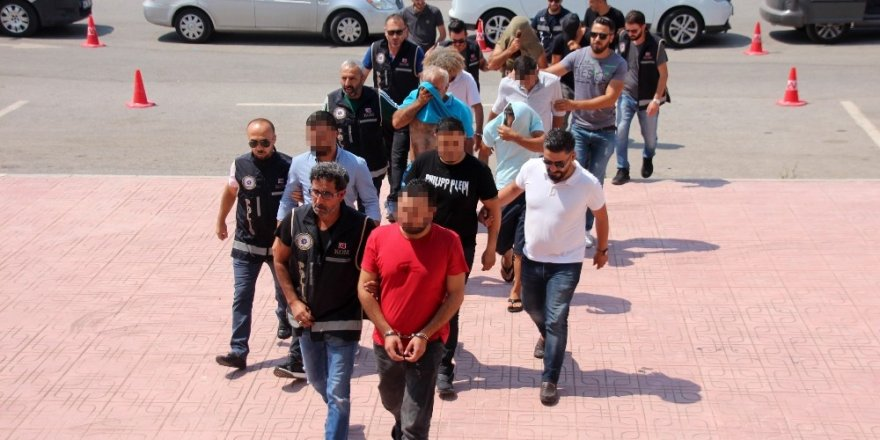 Bodrum'da insan tacirlerine büyük darbe: 9 gözaltı