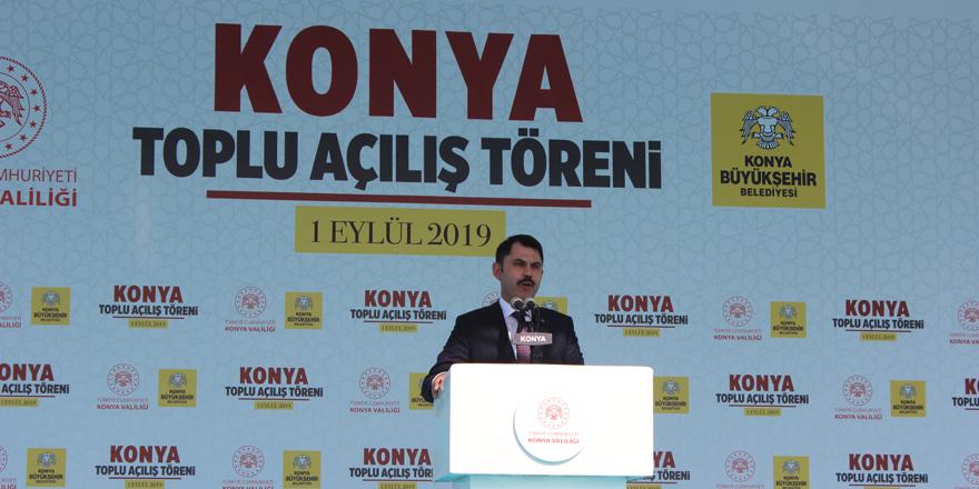 Bakan Kurum: Konya AK Parti'dir, AK Parti de Konya'dır