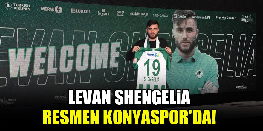 Levan Shengelia resmen Konyaspor'da!