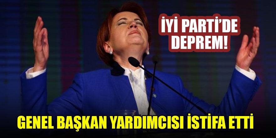 İYİ Parti'de deprem! Genel Başkan yardımcısı istifa etti