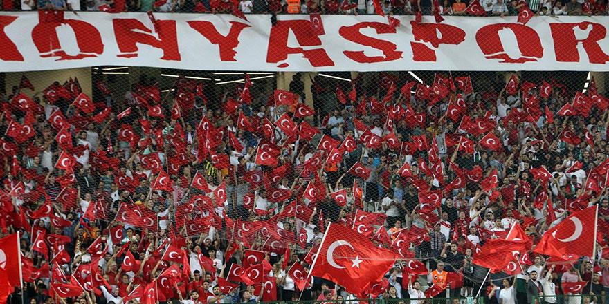 Konyaspor'dan Millilere mesaj