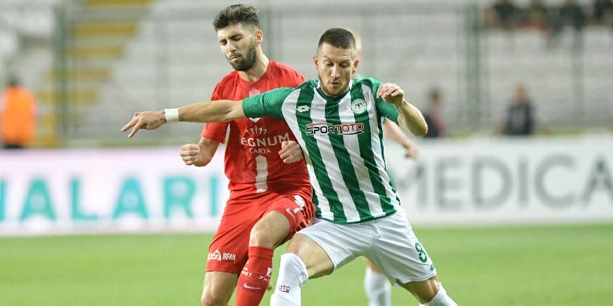Konyaspor'un ilk yarı programı açıklandı