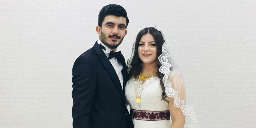 İhsan ile Selin'in mutlu günü