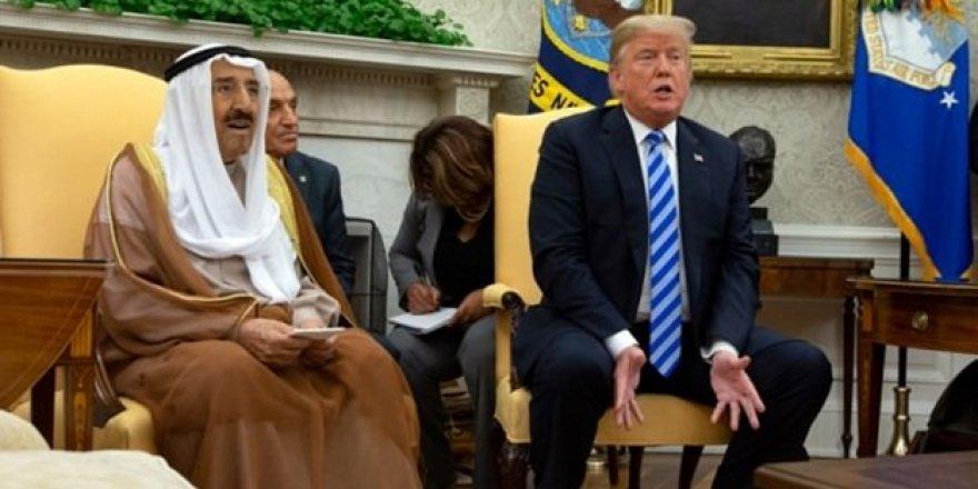 Kuveyt Emiri ABD'de hastaneden çıkamadı! Trump'tan açıklama geldi