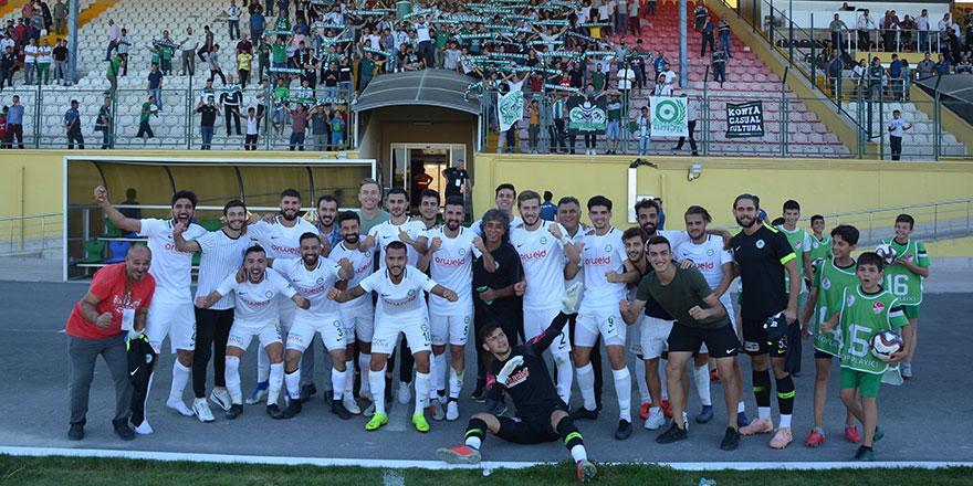1922 Konyaspor ilk galibiyetini aldı