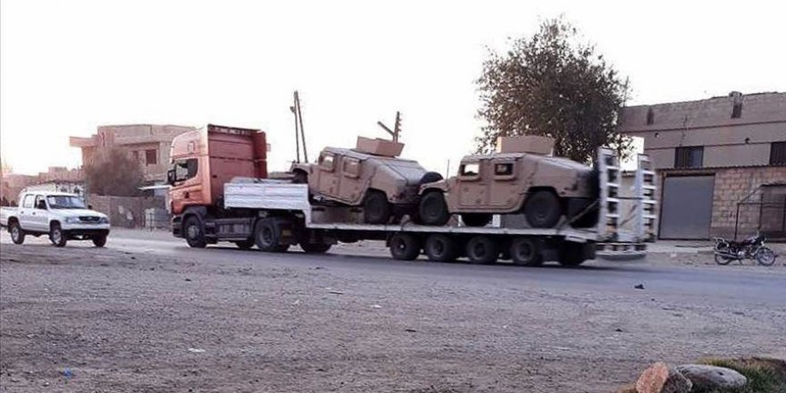 Syrie: les États-Unis poursuivent leur livraison vers les zones occupées par le YPG/PKK