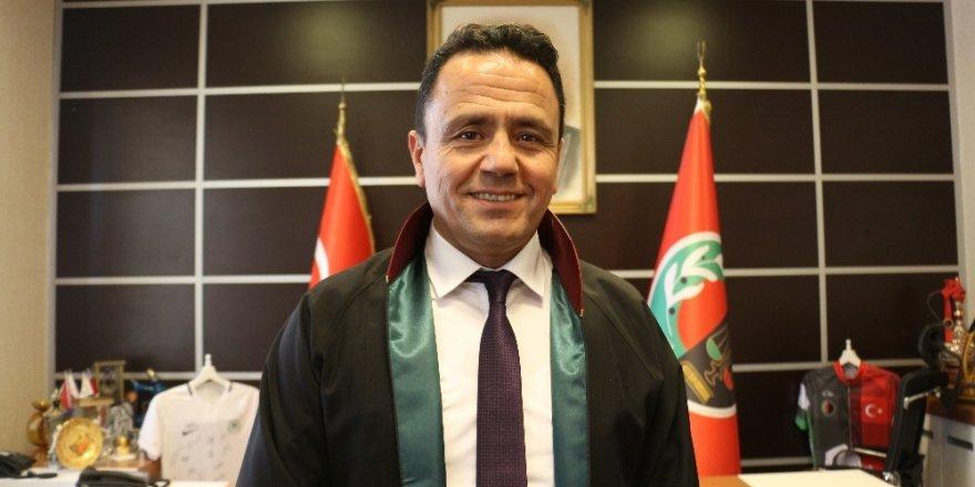 Konya Baro Başkanı Aladağ'dan Kadir Şeker iddianamesine ilişkin açıklama