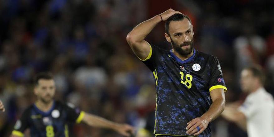 Vedat Muriç'in şovu yetmedi | İngiltere - Kosova maç sonucu: 5-3
