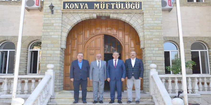 Rektör Şahin Poçanoğlu'nu ziyaret etti