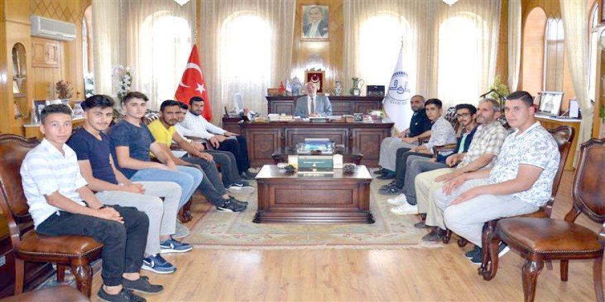 Bozkır'dan Poçanoğlu'na ziyaret