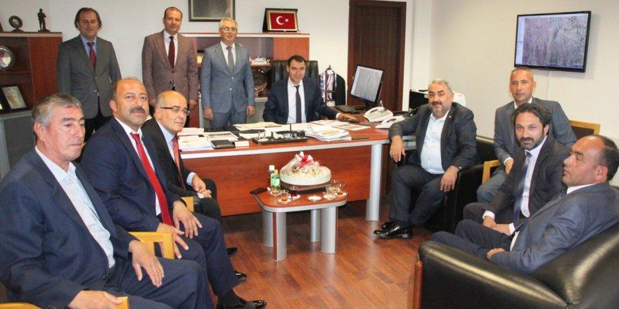 Etyemez'den TOKİ'ye ziyaret