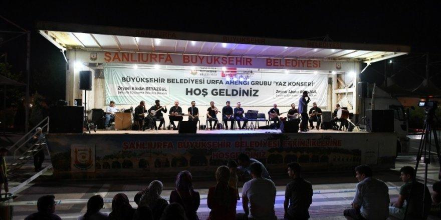 Şanlıurfa'da yaz konserleri ilgi görüyor