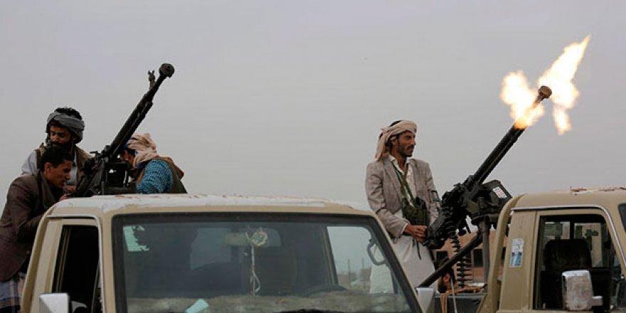 Suudi Arabistan'daki askeri kamp vuruldu