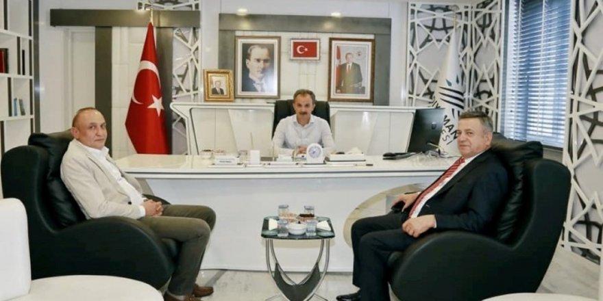İşadamı Erdemoğlu, Başkan Kılınç ile bir araya geldi