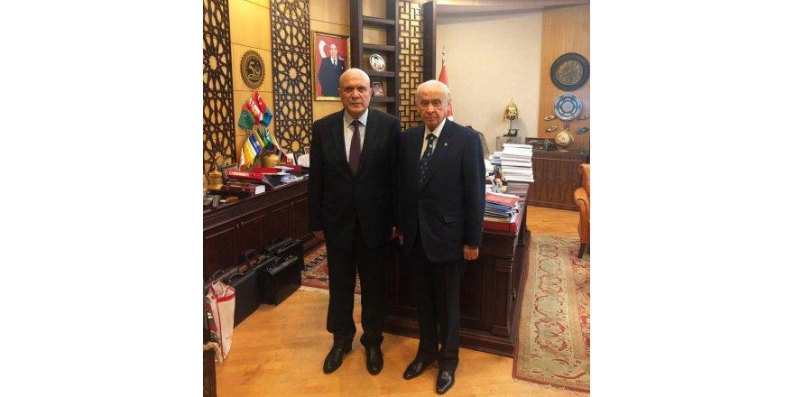 MHP lideri Bahçeli Bayburt'a geliyor