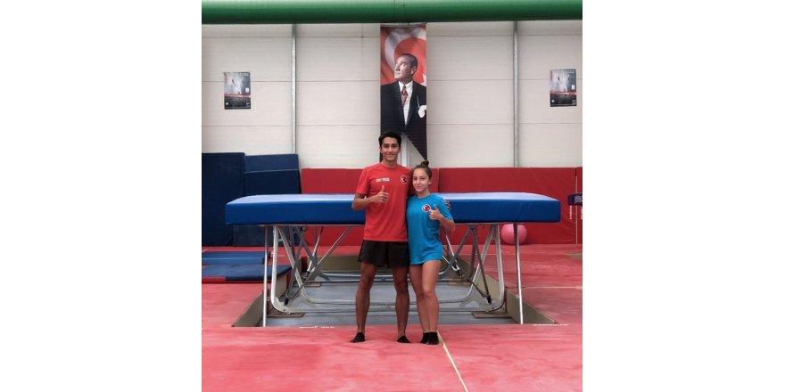 Genç cimnastikçilerin hedefi 2020 Tokyo