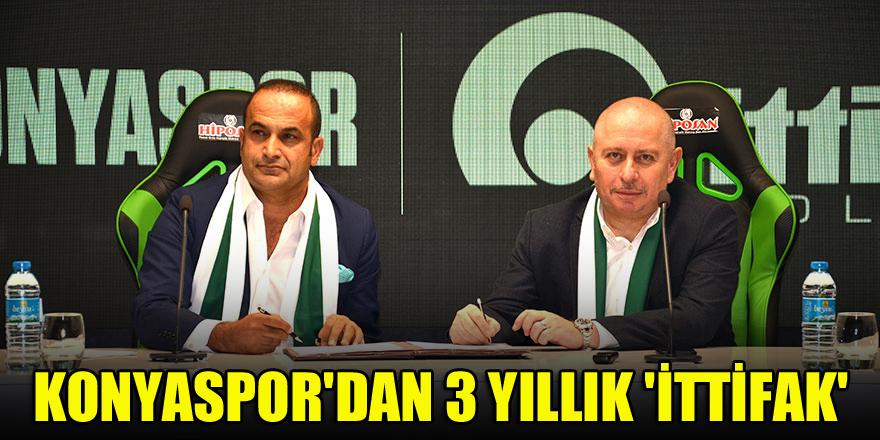 Konyaspor'dan 3 yıllık 'İttifak'