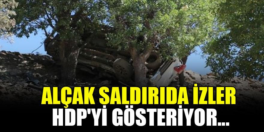 Alçak saldırıda izler HDP'yi gösteriyor...