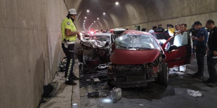 Tünelde can pazarı: 2 ölü, 1 yaralı