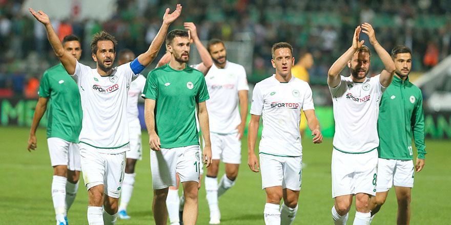 Konyaspor'dan 2 oyuncu haftanın 11'inde