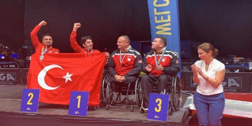 Millilerden,Para Masa Tenisi Avrupa Şampiyonası'nda 7 madalya