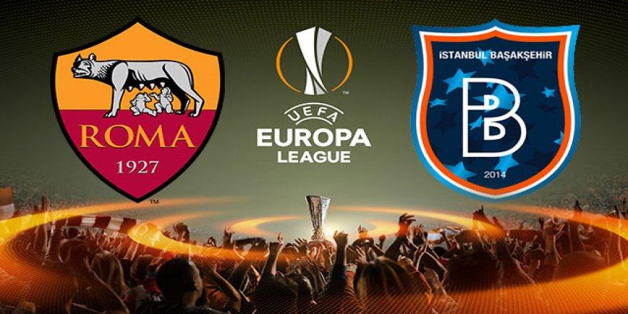 Roma - Başakşehir maçında ilk 11'ler belli oldu