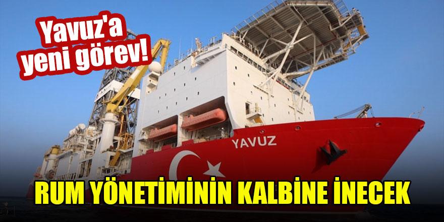 Yavuz'a yeni görev! Rum Yönetiminin kalbine inecek