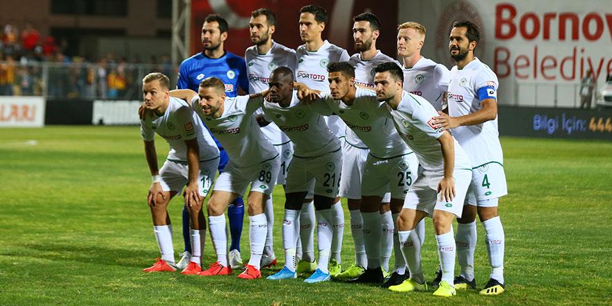 Konyaspor teknik direktörü Kocaman, Kadroyu bozmadı