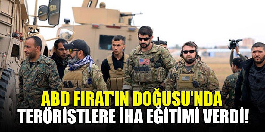 ABD'den Fırat'ın Doğusu'nda teröristlere İHA eğitimi