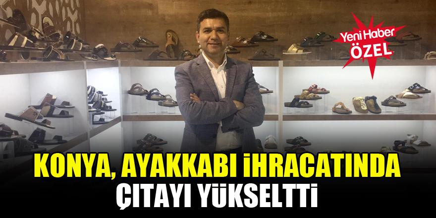 Konya, Ayakkabı ihracatında çıtayı yükseltti