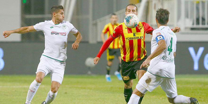 Konyaspor'un topla oynama yüzdesi yüksek