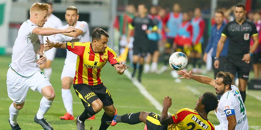 Konyaspor, oyun kurmakta zorlandı