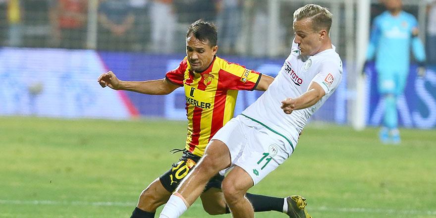 Konyaspor'da bu sezonki en kötü oyunu