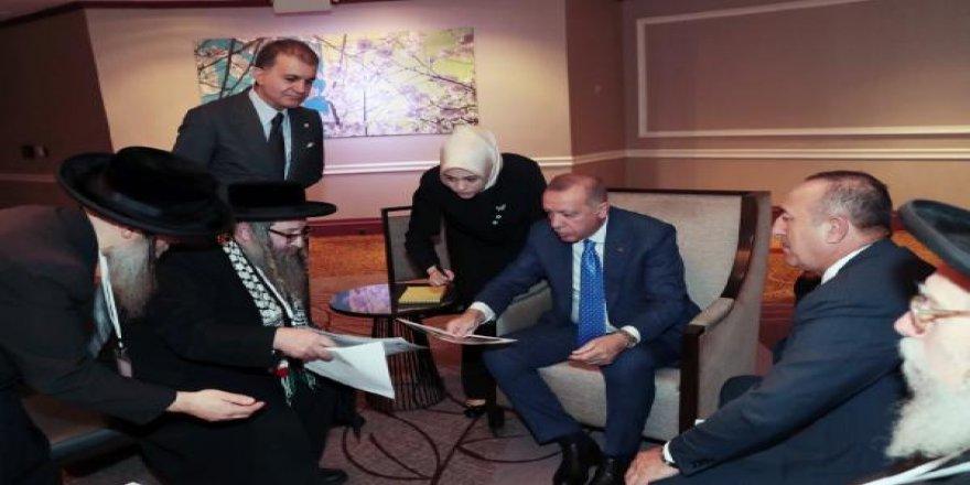 Erdoğan, ABD'de Türk, soydaş ve Müslüman toplumu ile bir araya geldi