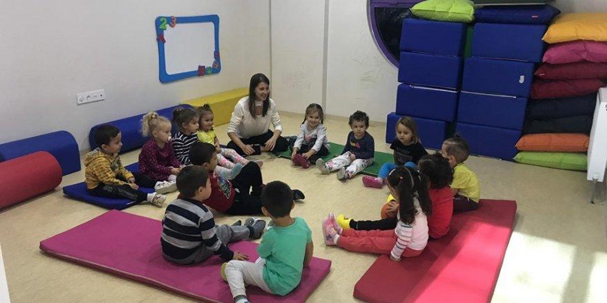 Miniklere İngilizce ve beden eğitimi dersleri verilmeye başlandı